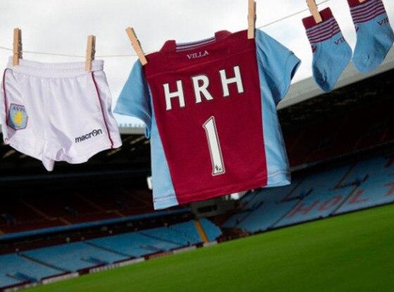 Prince William, Soccer Kit