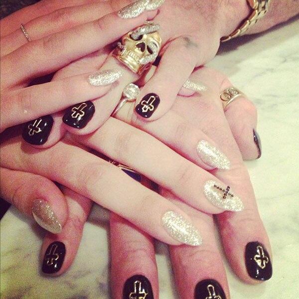 Kelly Osbourne, Ozzy Osbourne, Manicure, Instagram