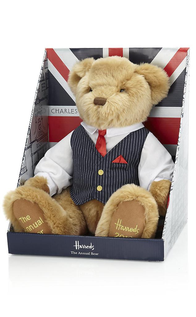 Prince William, Kate Middleton, Harrods Teddy Bear