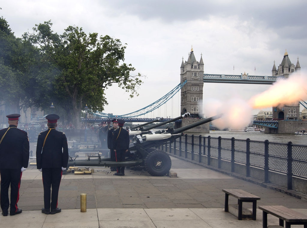 Royal Baby Gun Salute London