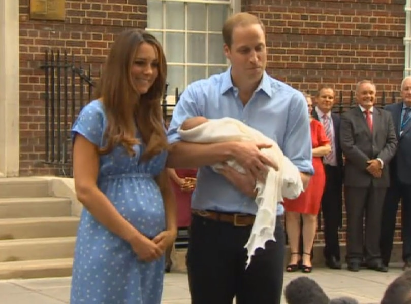 Turn Around Wedding Song: Dad's Turn! From Prince George's Cutest Photos