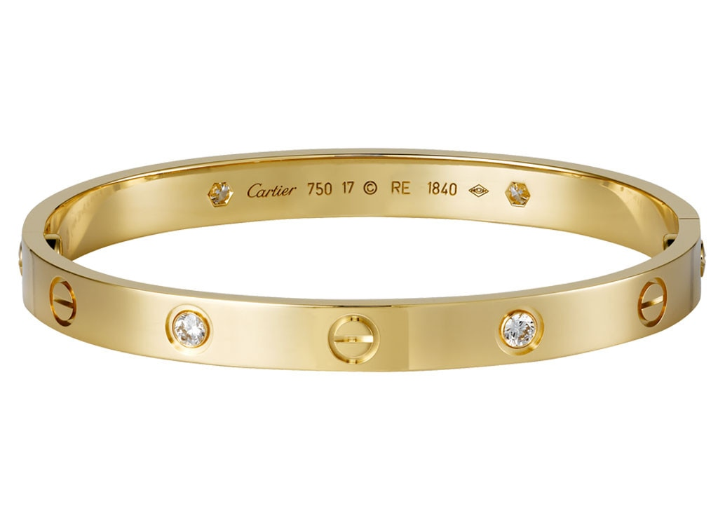 Kate Middleton Presents, Cartier Love bracelet