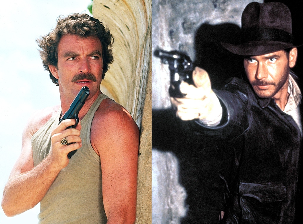Tom Selleck, Harrison Ford, Roles Recast
