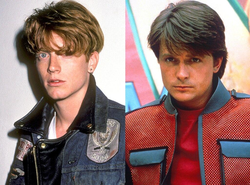 Eric Stolz, Michael J. Fox, Roles Recast