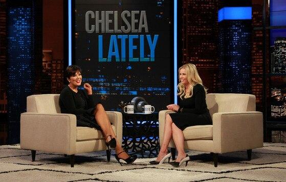 Kris Jenner, Chelsea Handler, Chelsea Lately