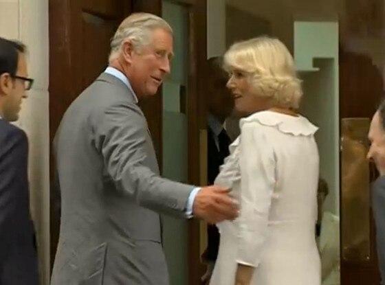 Prince Charles, Camilla, St. Mary's Hospital