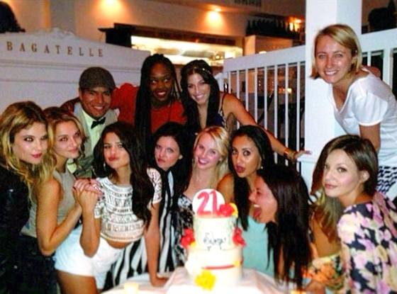 Selena Gomez, Bagatelle Birthday Dinner