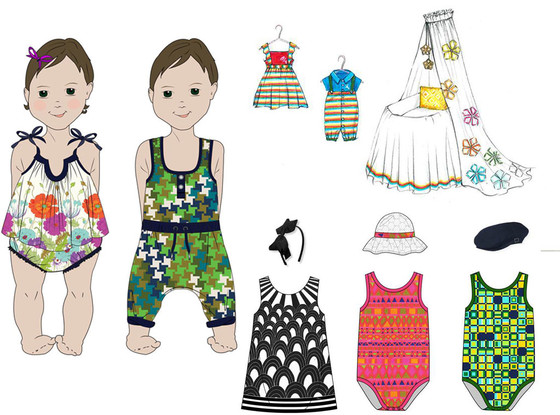 Trina Turk Royal baby Designs