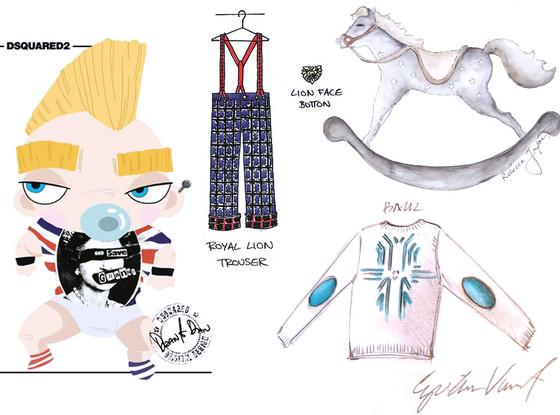 Royal Baby Designer Collage