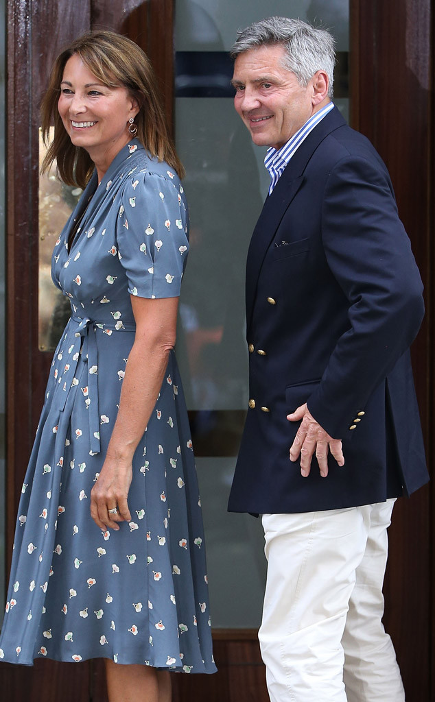 Carole Middleton, Michael Middleton
