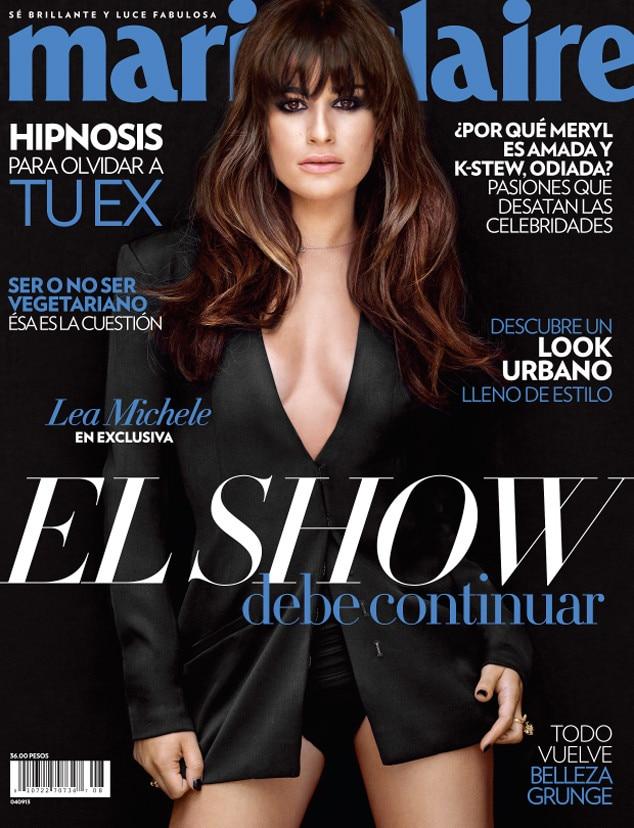Lea Michele, Marie Claire Mexico