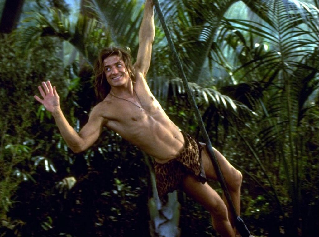 George of the Jungle, Brendan Fraser