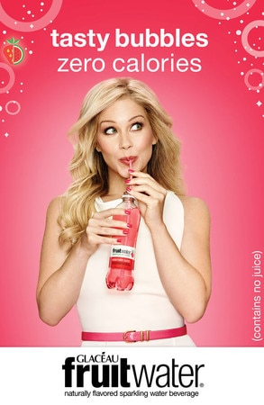 Christina Applegate fruitwater campaign