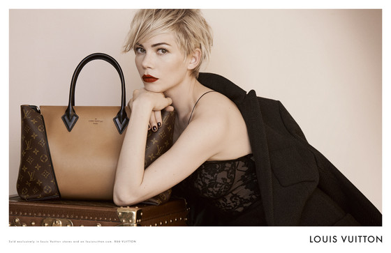 Michelle Williams, Louis Vuitton