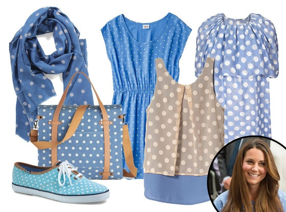 Kate Middleton, Polka Dots Collage