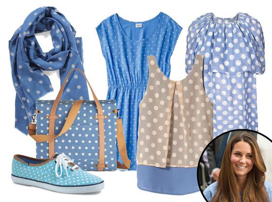 Kate Middleton, Polka Dots Collage