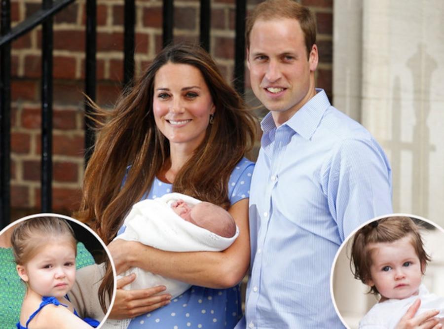 Harper, Marlowe, Royal Baby, Kate Middleton, Catherine, Duchess of Cambridge, Prince William