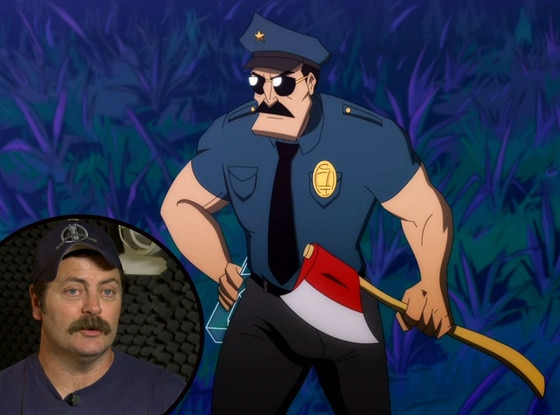 Nick Offerman, Axe Cop