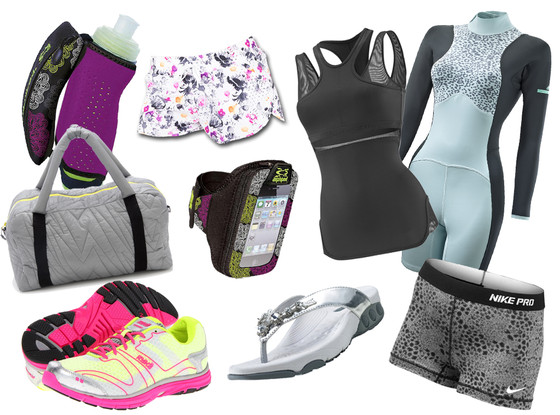 Fitness Gear Collage