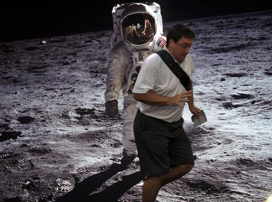 In the way guy, Moon