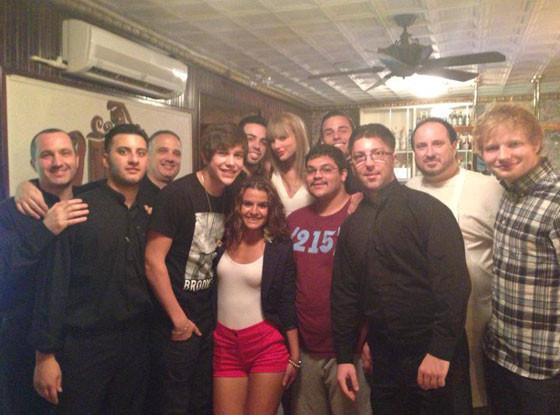 Taylor Shift, Ralph's Italian Restaurant in Philadelphia