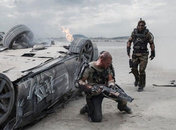 Sharlto Copley, Matt Damon, Elysium