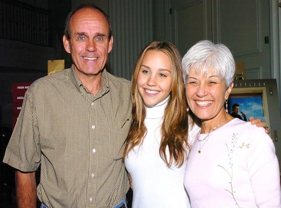 Amanda Bynes, Rick Bynes, Lynn Bynes