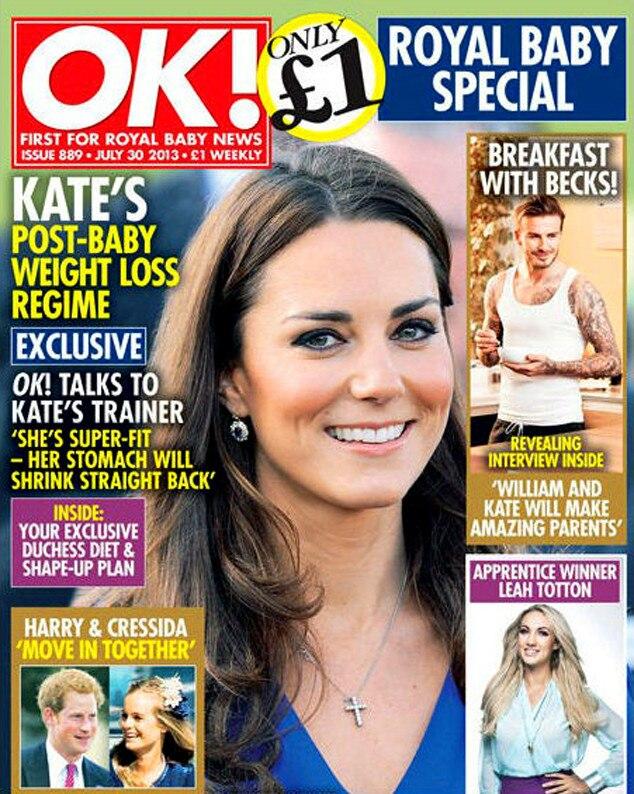 OK! Magazine, Weight Loss, Kate Middleton, Duchess Catherine