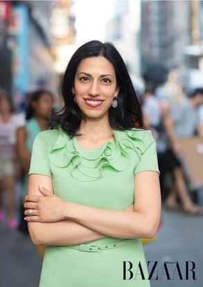 Huma Abedin, Harper's Bazaar