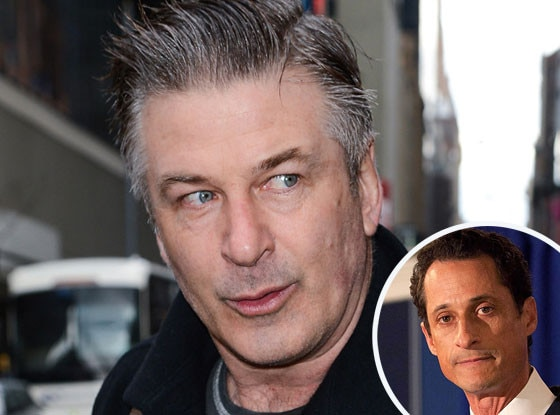 Alec Baldwin, Anthony Weiner