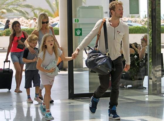 Gwyneth Paltrow, Chris Martin, Apple, Moses
