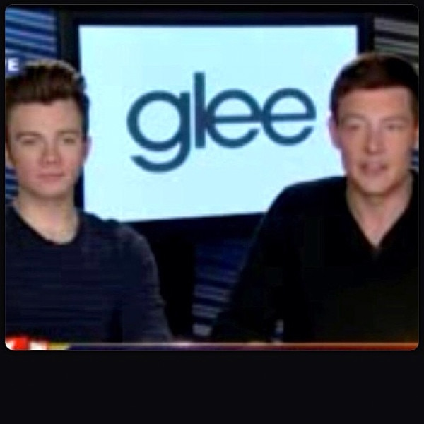 Chris Colfer, Instagram