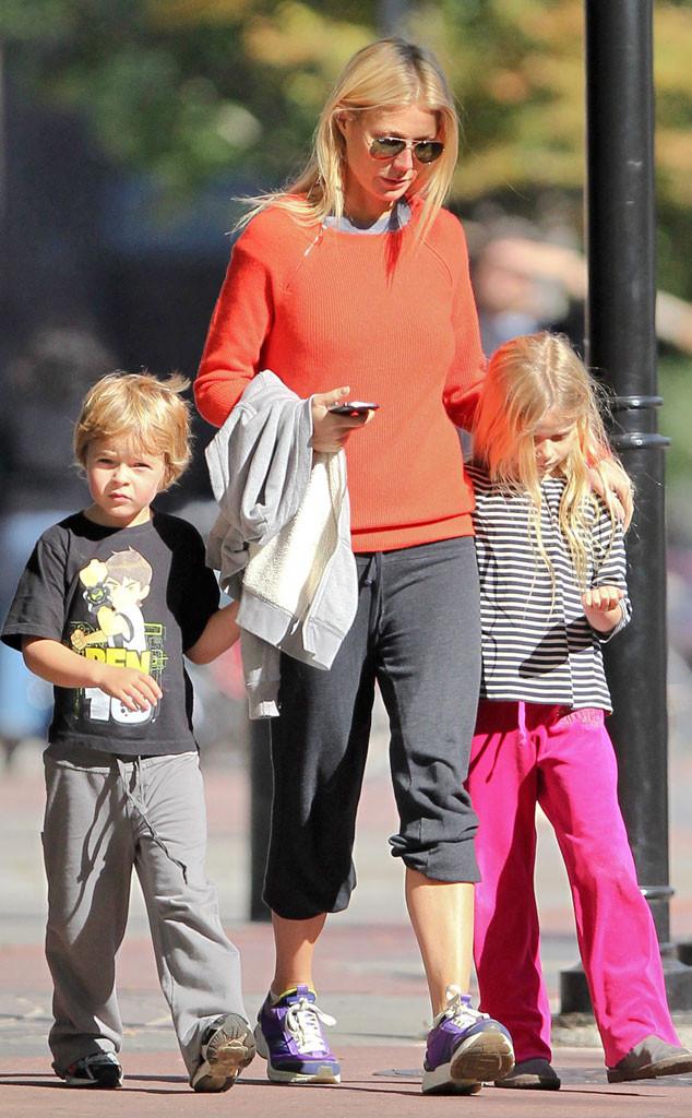 Gwyneth Paltrow, Apple Martin, Moses Martin