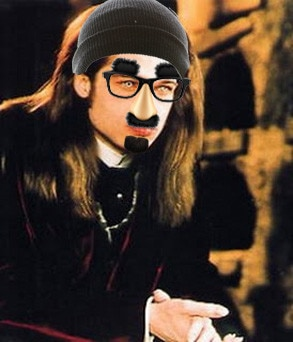 Vampire Brad Pitt disguised 2