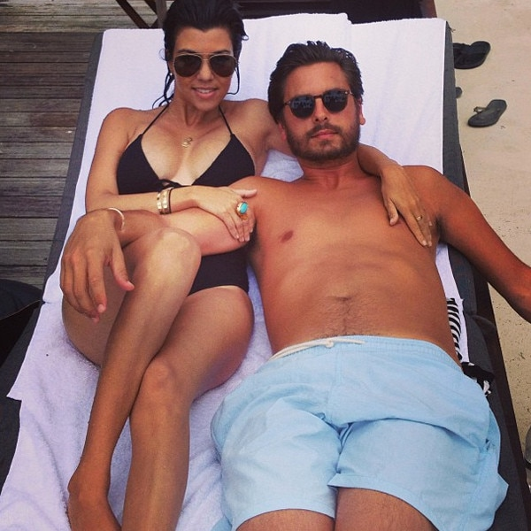 Kourtney Kardashian, Scott Disick, Instagram