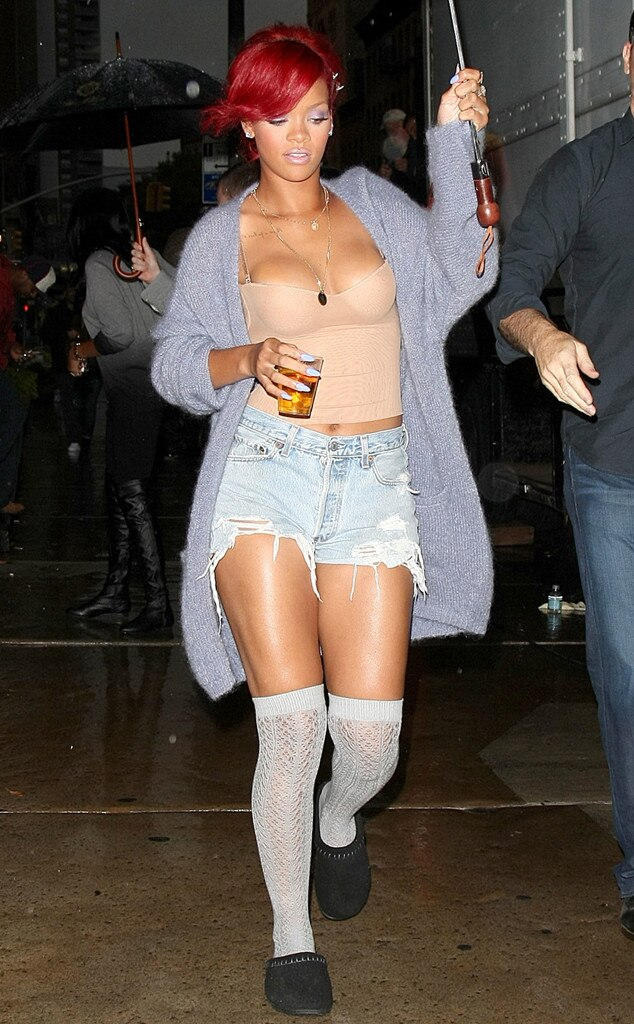 Rihanna, Shorts