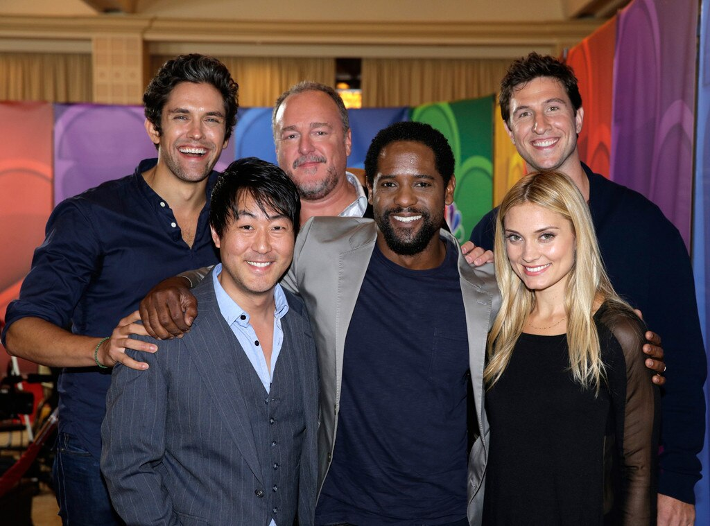 NBC Press Tour, Ironside Cast