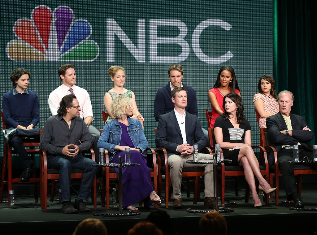 NBC Press Tour, Parenthood Cast