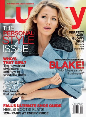 Blake Lively, Lucky Magazine