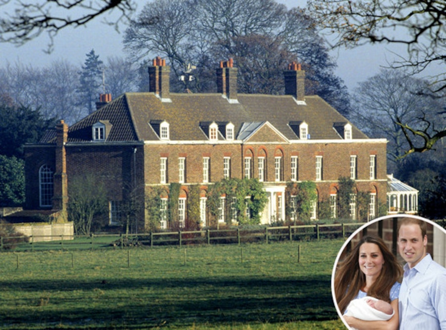 Prince George, Royal Baby, Duchess Catherine, Kate Middleton, Prince William, Anmer Hall,