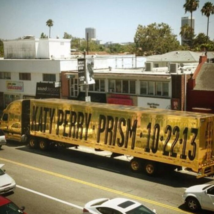 Katy Perry, Gold Truck, Prism Album