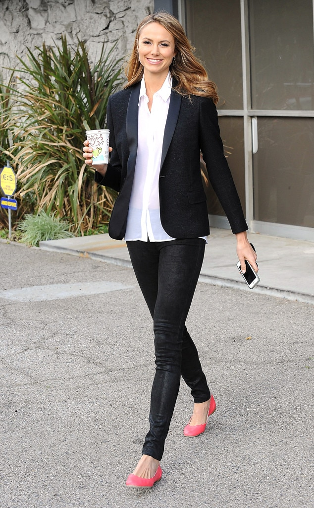 Office attire from celebrity street style e news Fashion celebrity street style