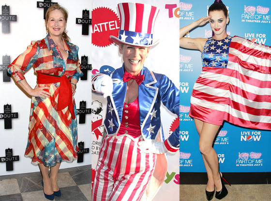 Meryl Streep, Jamie Lee Curtis, Katy Perry