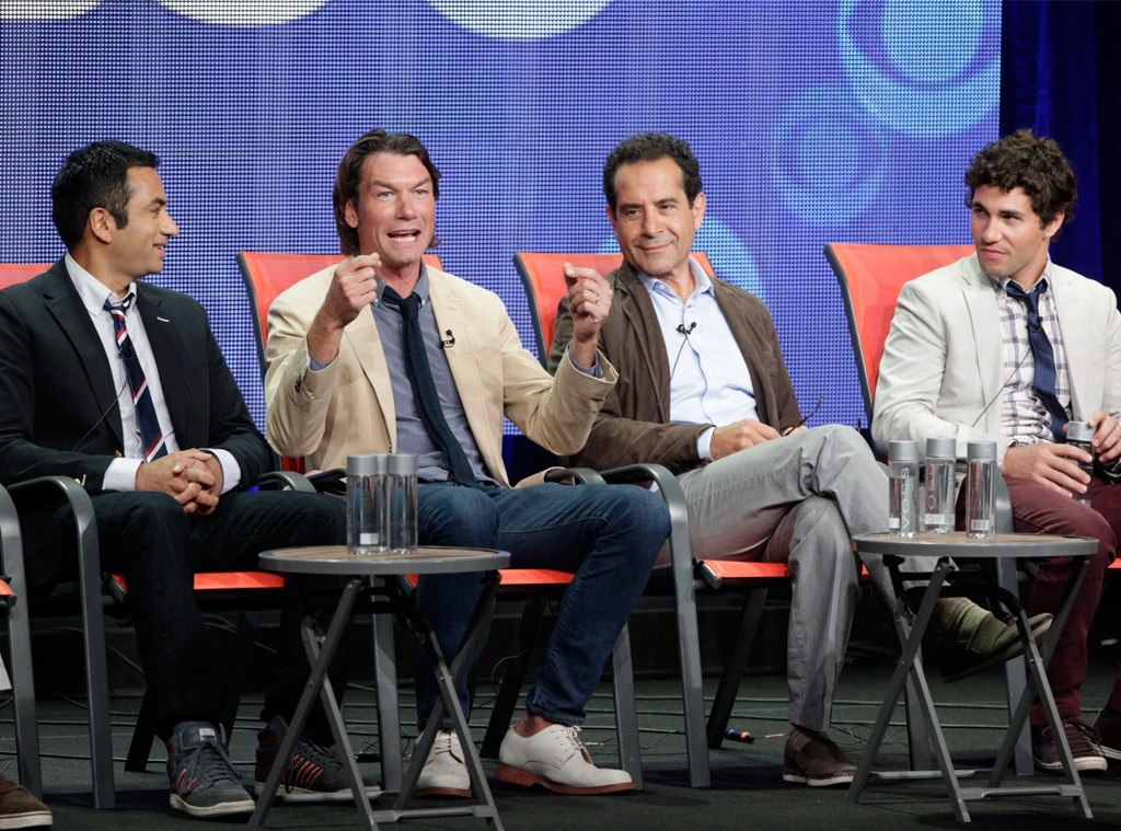 Kal Penn, Jerry O'Connell, Tony Shalhoub, Chris Smith, CBS TCA
