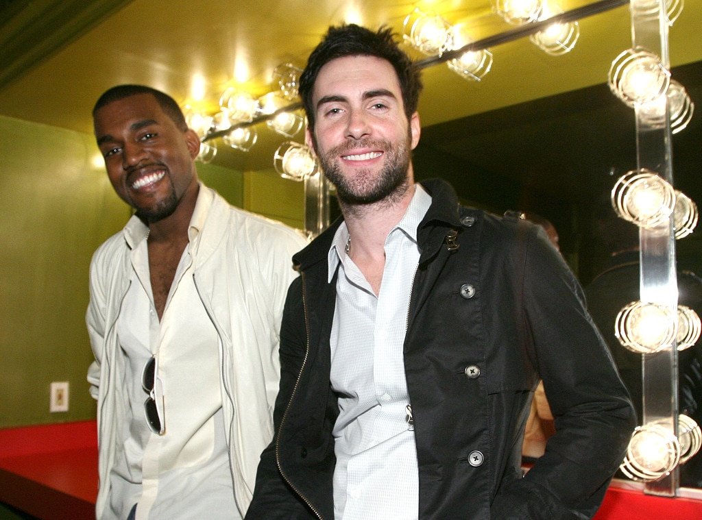 Kanye West, Adam Levine, Celebrity Collaborations