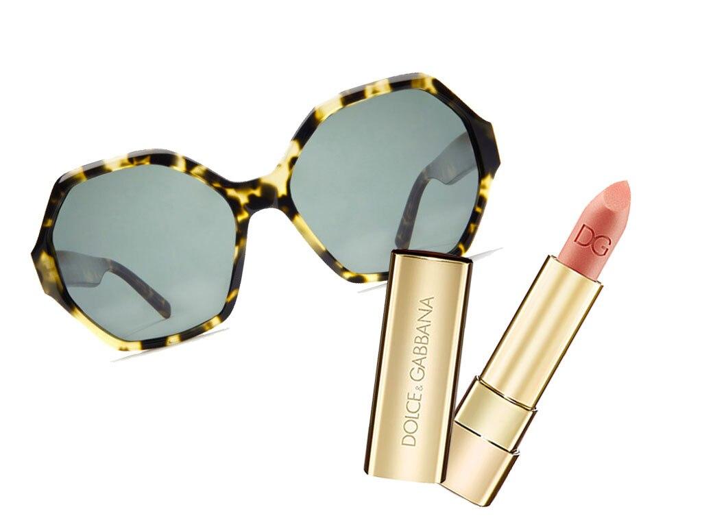 Sunglasses, Lipstick Combos