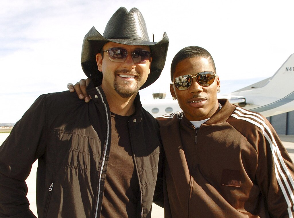 Tim McGraw, Nelly, Celebrity Collaborations
