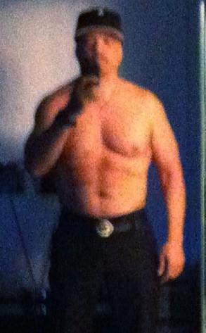 Ice-T, Shirtless, Twit Pic