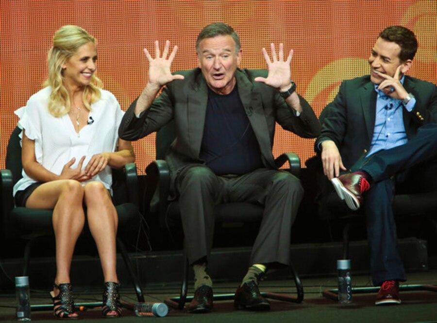 Sarah Michelle Gellar, Robin Williams, Jason Winer, CBS TCA