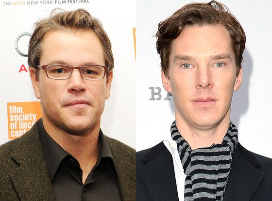Matt Damon, Benedict Cumberbatch